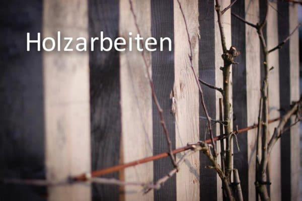 Leistungen Holzbau